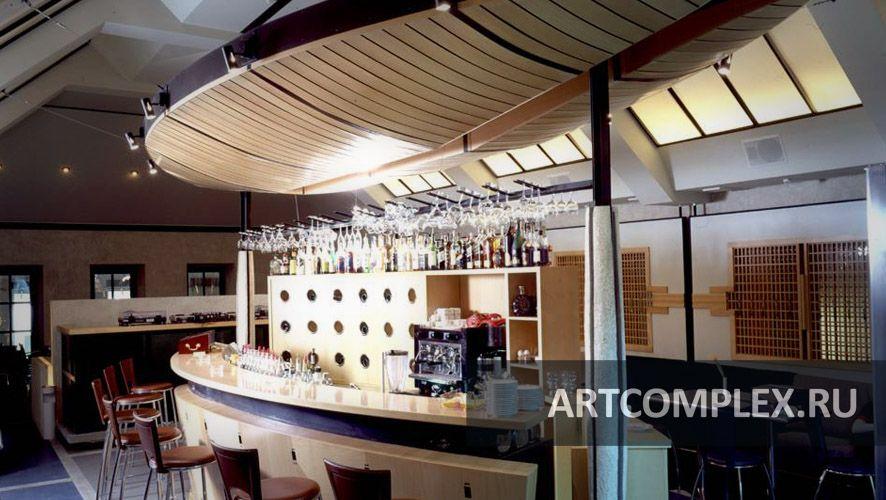 Архитектурный проект интерьеров кафе