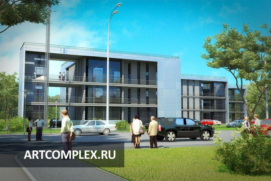 Архитектурный проект автосалона