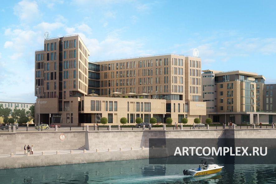 Архитектурный проект бизнес центра