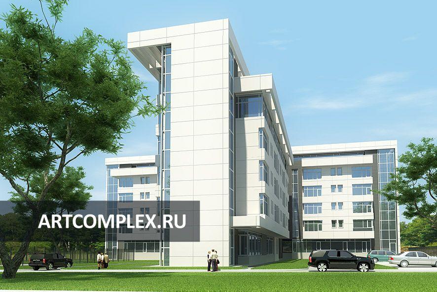 Архитектурный проект гостиницы