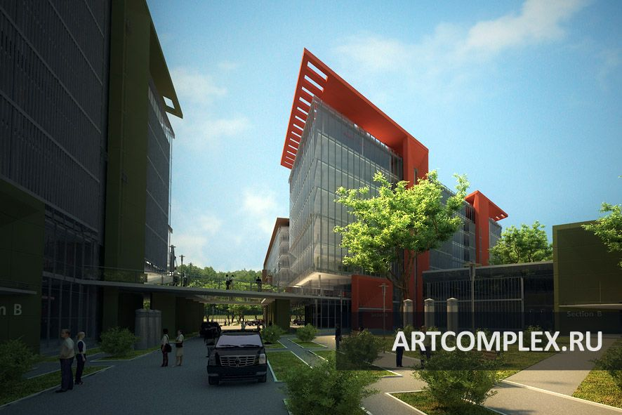 Архитектурный проект офисного центра