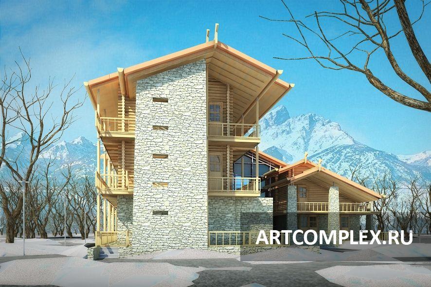 Архитектурный проект отеля