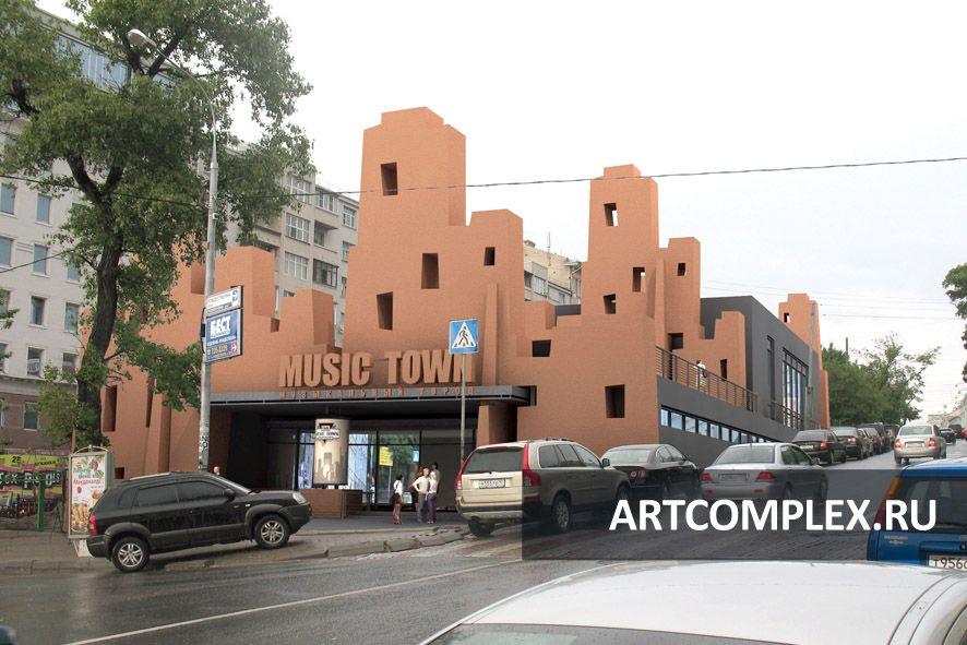 Архитектурный проект развлекательного центра