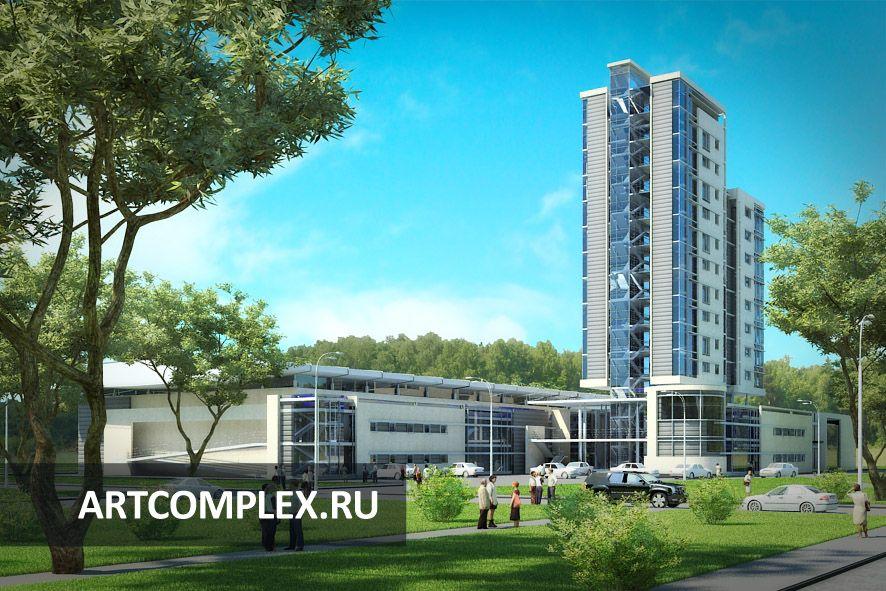 Архитектурный проект спортивного комплекса