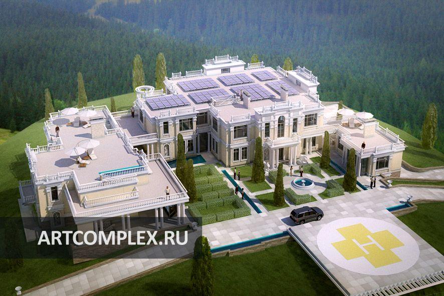 Архитектурный проект виллы