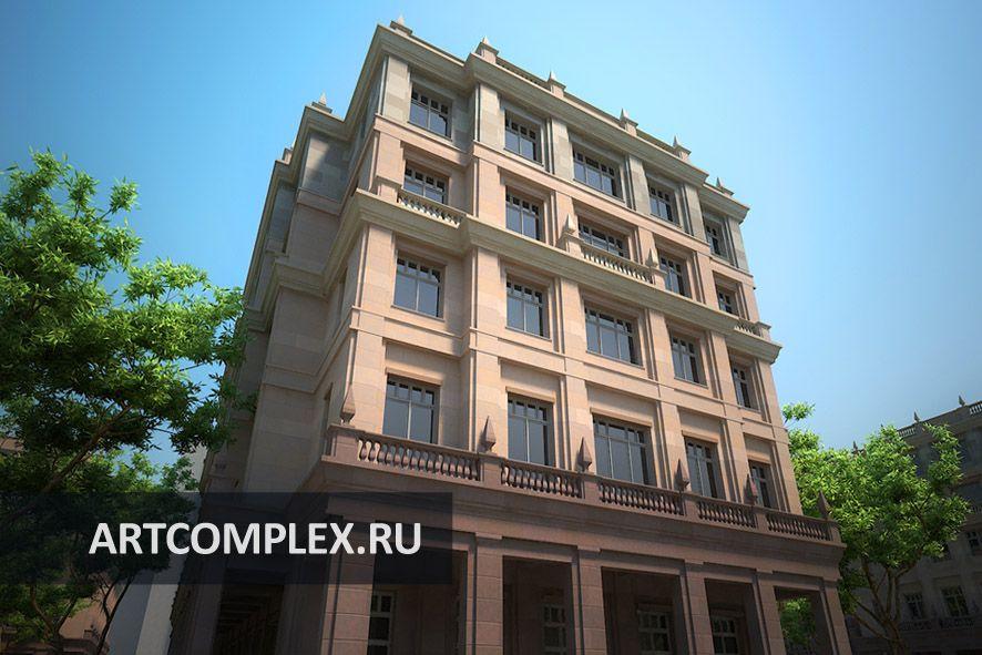 Архитектурный проект жилого комплекса